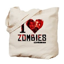 I heart Zombies Tote Bag