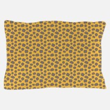 Wordy Marigold Pillow Case