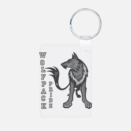 Cute Wolfpack Keychains