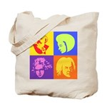 Pop Art Composer Tote Bag