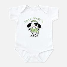 Happy St. Pats Puppy Infant Bodysuit