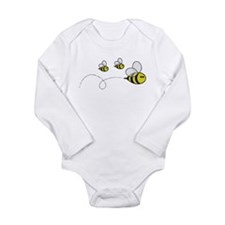 3 family bee Body Suit