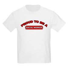Proud To Be A Social Worker Kids T-Shirt