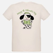 Happy St. Pats Puppy T-Shirt