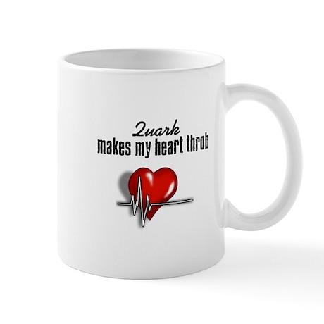 Quark makes my heart throb Mug