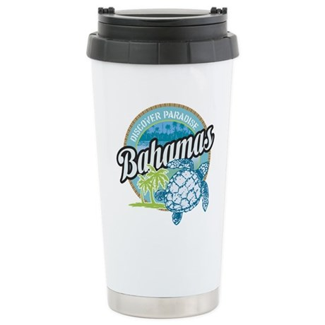Bahamas Stainless Steel Travel Mug