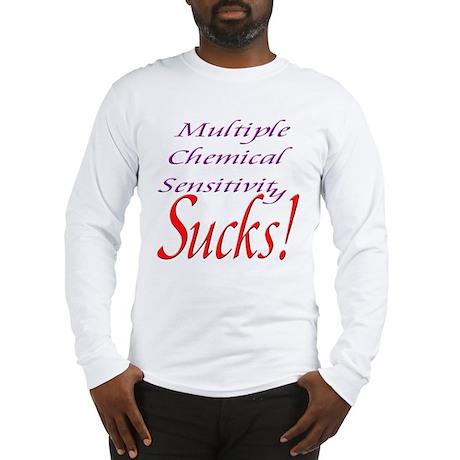 MCS Sucks! Long Sleeve T-Shirt