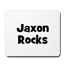 Jaxon Rocks Mousepad