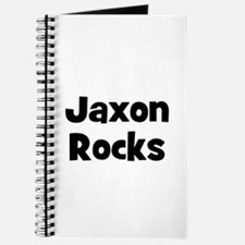 Jaxon Rocks Journal
