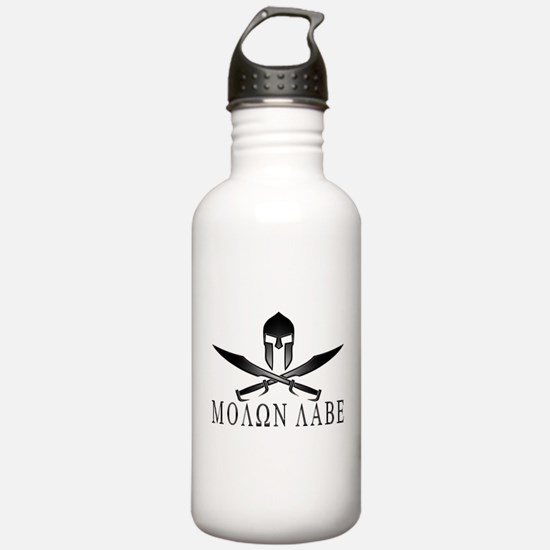 Unique Molon labe Water Bottle