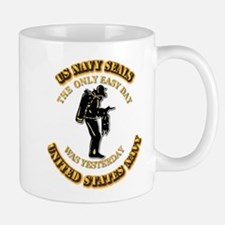 Navy - SOF - The Only Easy Day Mug