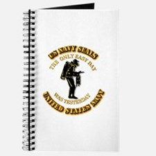 Navy - SOF - The Only Easy Day Journal