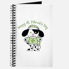 Happy St. Pats Puppy Journal