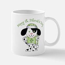 Happy St. Pats Puppy Mug