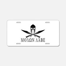 Funny Come and take it Aluminum License Plate