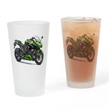 Cute Superbike Drinking Glass