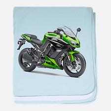 Cute Motorcycle baby blanket