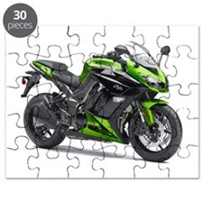 Unique Motorbike Puzzle