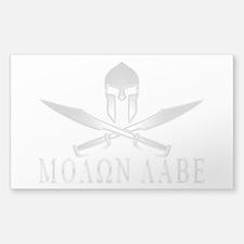 Cool Molon labe Decal