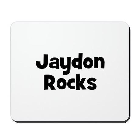 Jaydon Rocks Mousepad
