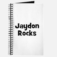Jaydon Rocks Journal