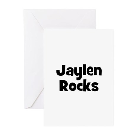 Jaylen Rocks Greeting Cards (Pk of 10)