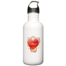 Bethany Valentines Sports Water Bottle