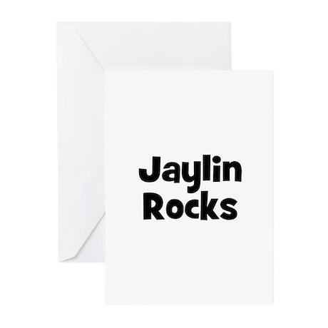 Jaylin Rocks Greeting Cards (Pk of 10)