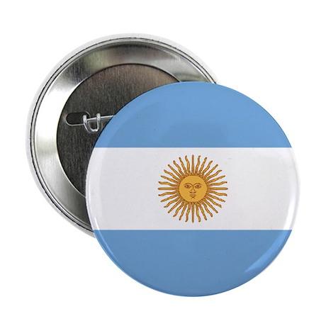 Argentina World Flag Badge / Button