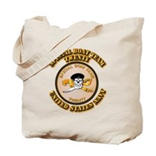 Navy - SOF - Special Boat Team 20 Tote Bag