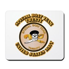 Navy - SOF - Special Boat Team 20 Mousepad