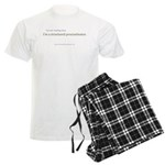 Structured Procrastination Men's Light Pajamas