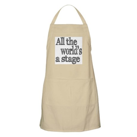 All the World's a Stage Apron