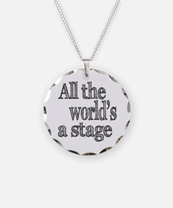 All the World's a Stage Necklace