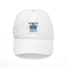Fight is On Thyroid Cancer Baseball Cap