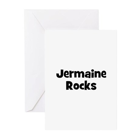 Jermaine Rocks Greeting Cards (Pk of 10)