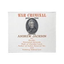 A. Jackson - Criminal Throw Blanket