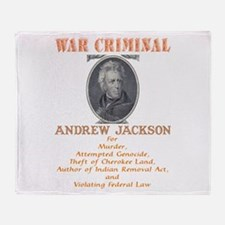 A. Jackson - Criminal Throw Blanket