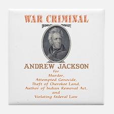 A. Jackson - Criminal Tile Coaster