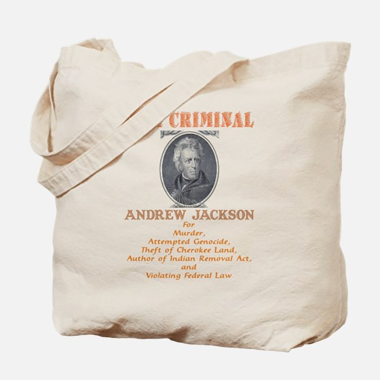 A. Jackson - Criminal Tote Bag