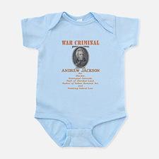 A. Jackson - Criminal Infant Bodysuit