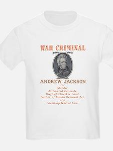 A. Jackson - Criminal T-Shirt