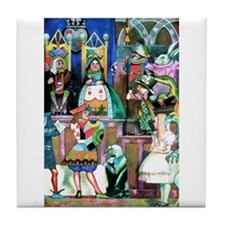 ALICE IN WONDERLAND Tile Coaster