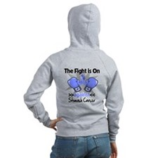 Fight is On Stomach Cancer Zip Hoody