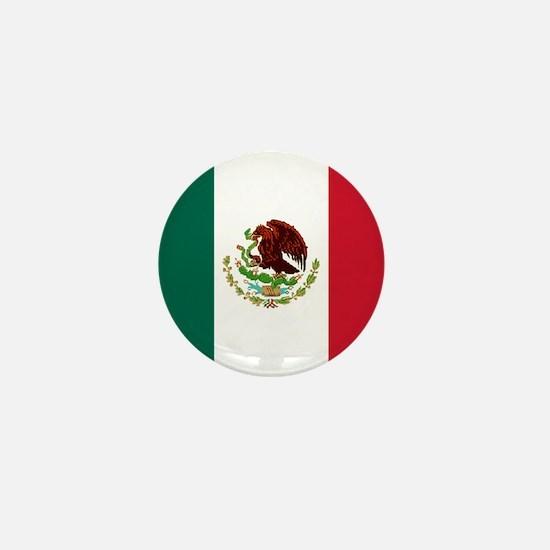 "Mexico World Flag 1"" Badge / Mini Button"