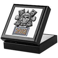 2012 Mayan Crossbones Keepsake Box