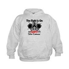 Fight is On Skin Cancer Hoodie
