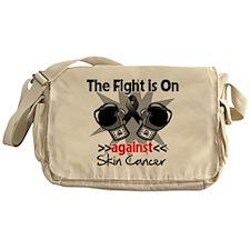 Fight is On Skin Cancer Messenger Bag