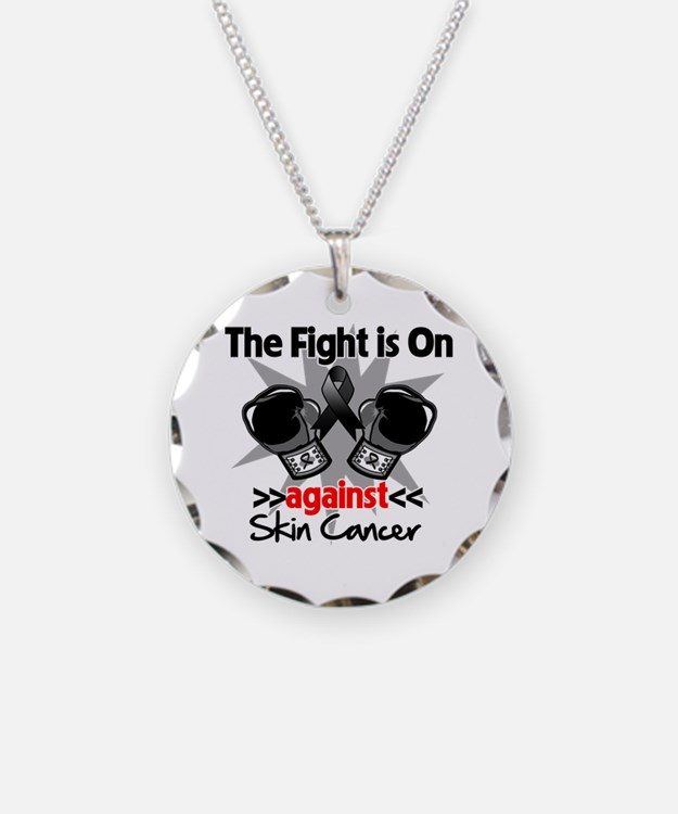 Fight is On Skin Cancer Necklace