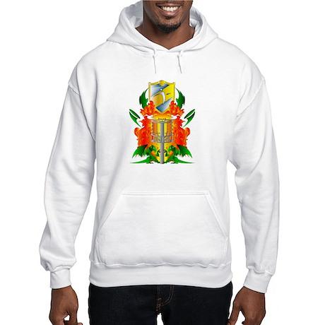 Color Disc Golf Coat of Arms Hooded Sweatshirt